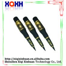 Oreille permanente électrique crayon à lèvres couleur noire Machine à tatouer les sourcils permanents aux aiguilles