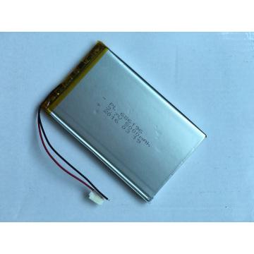 Batería Lipo 3.7V 5000mAh Li-Polímero recargable 686196