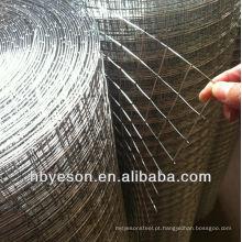 Malha de arame soldada galvanizado direto da fábrica