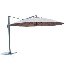 Восточный пляжный зонт с нежным шоколадом