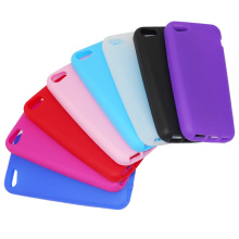 Colorido do Silicone Gel Cover caso para iPhone 5 5s