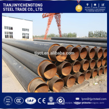 anti-corrosion pipe API5l Round Welded Steel Pipe for Black Coating pipe and 3PE