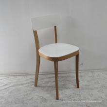 Mobília de madeira alta qualidade sala de jantar madeira maciça cadeira de jantar