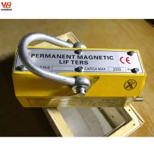 Lève-personne magnétique permanent de 5 tonnes pour le levage en acier résistant de heave