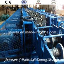Máquina formadora automática de rolos intercambiáveis C / Z (AF-CZ)