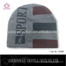 Winter strickte Wollmütze stricken Beanie Hüte