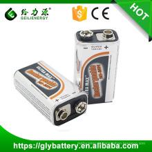 Bateria de alta potência com controle remoto NI-MH 6f22 9v