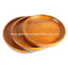 Wooden Serving Tray, Hardwood, Meet FDA, LFGB Standards, FSC Certificate, OEM Orders WelcomedNew