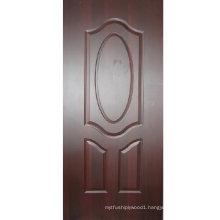 Melamine /Natural Veneer Faced Door Skin for Door