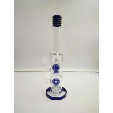 Straight tube glass bongs smoking water pipes