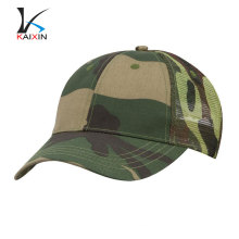 Custom 6 panel camo mesh trucker hats wholesale
