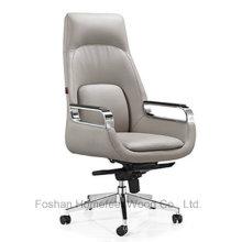Cadeira ergonómica moderna do chefe da elevação da parte traseira do couro do plutônio (HF-A2332)