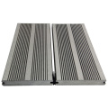 Outdoor walkway grey colour hot sell 146x21 wpc decking