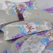 Tela de la camisa del satén del algodón de la impresión de la flor del 97% del ALGODÓN el 3%, satén del algodón para la ropa