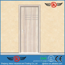 JK-PU9114 Flat With Metal-strip Serie Flush Door Design