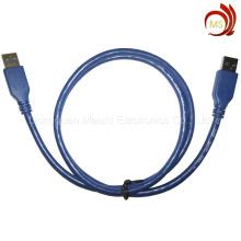 Alta velocidade USB3.0 um macho para cabo de dados Micro