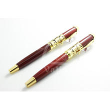 Luxury Design Wood Pen with Gold for Business People