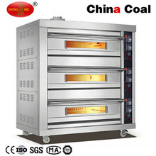 Commercial Gas Conveyor Pizza Bakery Oven