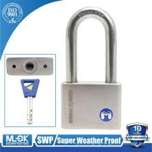 "MOK lock W12/50WF long shackle lock body width 13/16"" |11/12"" |2""|23/8""|23/4"" inch rotating bearing with lock"