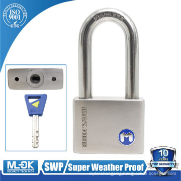 "MOK lock W12/50WF lock shackle diameter (5mm=3/16"",6mm=15/64"",7mm=9/32"", 10mm=25/64"" inch) padlock master key"