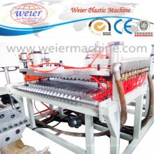 Línea de producción plástica del extrusor del tejado acanalado de la placa de la onda del PVC / del animal doméstico / de la PC