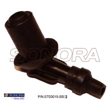 45 Degree Rubber Scooter Spark Plug Cap