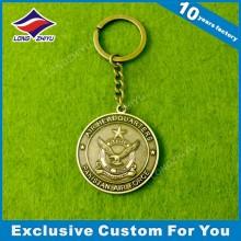 Überzug Münze Form Schlüsselanhänger Antike Münze Schlüsselanhänger Medaille Schlüsselanhänger