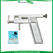 Professional Painless Iron Body Piercing Gun for Body Piercing