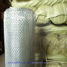 Tissage linéaire et structure stable Mesh métallique galvanisé pour le filtrage