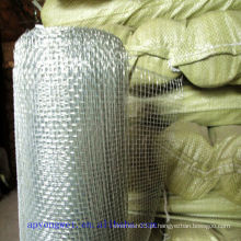 Tecelagem simples e estrutura estável galvanizado Square Wire Mesh para filtragem