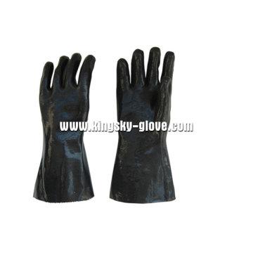 Black Neoprene Smooth Finish Industrial Glove-5342