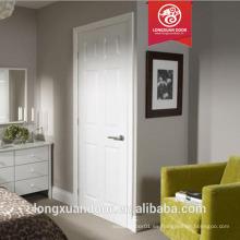 Wpc puerta puerta interior de diseño para habitación de hotel puerta impermeable