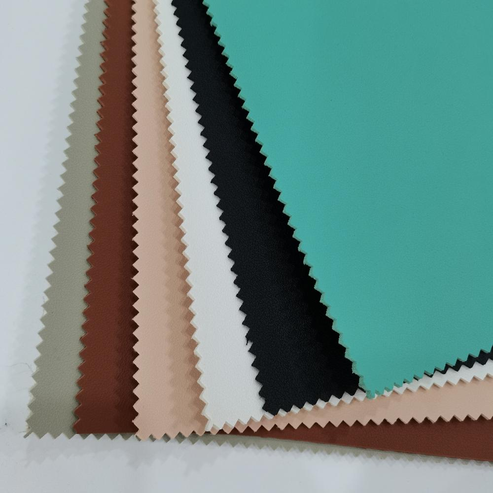 Thickened Pvc Leather With Suede Backing