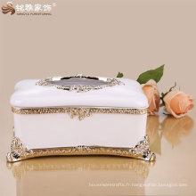 Design de boîte en papier de soie décoration de maison de haute qualité à prix promotionnel