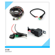 Single Waterproof Relay Connector LED Wiring Harness