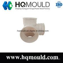 Molde de injeção plástico dos encaixes de tubulação do cotovelo de cinco maneiras