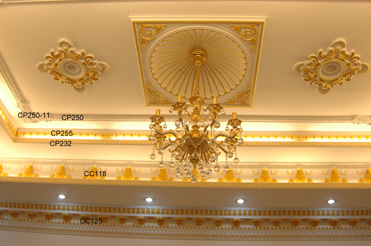 PU Cornices, panel Mouldings