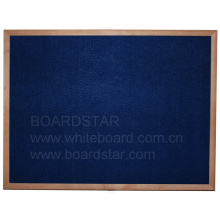 Panneau d'affichage encadré en bois (BSFCO-W)