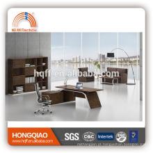 (MFC) DT-12-22 mesa de escritório de madeira mesa de aço inoxidável mesa de escritório executivo base