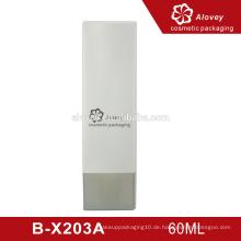 Benutzerdefinierte Größe Kunststoff Kosmetik Serum Hautpflege Verpackung Flasche Cap