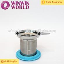 Coador de aço inoxidável da cesta do presente relativo à promoção quente da venda