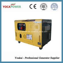 10kw baixo ruído Soundproof Diesel Gerador