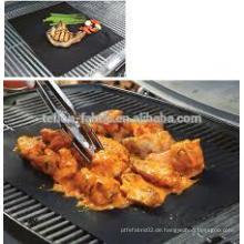 100% BBQ Wiederverwendbares PTFE (PFOA frei) beschichtetes Antihaftgewebe als Grillmatte