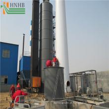 Purificadores industriais das emanações da absorção de H2S