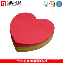 SGS Fancy Heart Paper Cube Cartoon Shaped Paper Cube