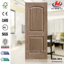 JHK-S01 3.5-миллиметровая решетка и длинный дизайн Сертификат Carb Сертификат EV-518 Дверь из древесины ореха HDF Wood Wood