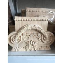 talla de madera ménsulas de capital