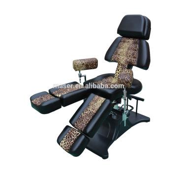 Médico beleza cama mobiliário tatuagem máquina tatuagem equipamentos, Black Tattoo Cliente equipamentos móveis