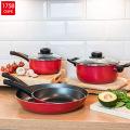 Aluminum Black Nonstick Hot Pot Saucepan