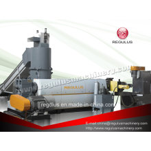 Waste Plastic Film Recycling and Pelletizing Extruder